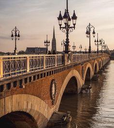 Paris France Travel, France City, Aquitaine, Bordeaux France, Old Bridges, France Photography, Paris Hotels, Toulouse, Belle Photo