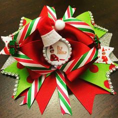 Elf on the Shelf Boutique Bow by PincurlsNCrowns on Etsy
