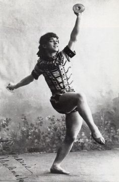 "Vaslav Nijinsky in ""The Pharaoh's Daughter"", 1907"