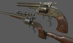ArtStation - Steampunk Smith & Wesson, Yaroslav Trotsky