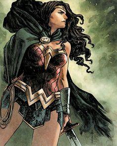 Wonder Woman By Sabastian Fiumara