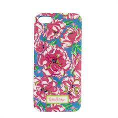 Lilly Pulitzer Lucky Charms iPhone 5 Case #VonMaur #LillyPulitzer #Blue #Pink