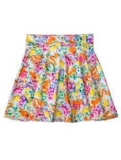 Pastel Frosting Skater Skirt from PRETTY SNAKE