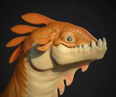 ArtStation - Dino head, Rauno Somelar