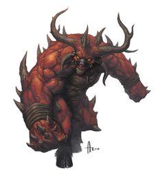 Demon Lord Eltab by nJoo.deviantart.com on @deviantART