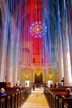 "Graced With Light"" at Grace Cathedral, San Francisco"