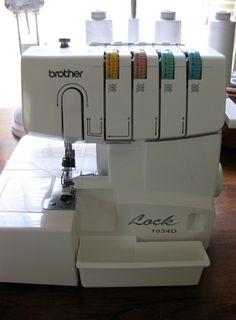 All About Sergers on Sew, Mama, Sew!, one of my favorite web sites