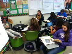 Collaboration on Wheels: 21st Century Classroom Furniture at Work | Edutopia