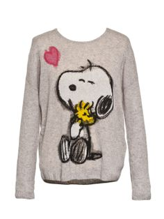 princess goes hollywood pullover grau mit snoopy more. Black Bedroom Furniture Sets. Home Design Ideas