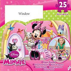 Amazon.com: Disney Minnie 25-piece Floor Foam Puzzle Mat: Toys & Games