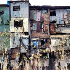 Dhravi Slum, Mumbai, India; Courtesy of Flickr User ToGa Wanderings; Licensed via Creative Commons