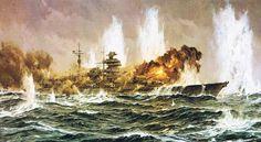 Claus Bergen - Schlachtschiff Bismarck (1941)