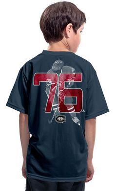 70517f2c3 P.K. Subban Montreal Canadiens Lightspeed Youth T-Shirt Nhl Apparel