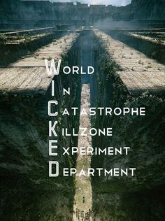 W.I.C.K.E.D. is good. | The Maze Runner | Book series by James Dashner | #film #movie #still