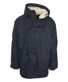 Deep Indigo Flash Point Parka