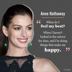 Every single time you focus on the positive, you are bringing more light into your life, and you know that light removes all darkness. Anne Hathaway shares one way to increase positivity, now you can focus everyday on the positive with The Secret Daily Teachings App. Click here for more happiness in your life: http://apple.co/1Ocxc3w