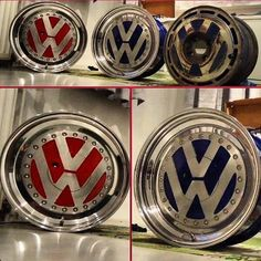 VW logo Rims