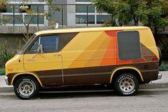If this vans a rockin' don't bother knockn'YEAH BABY.If this vans a rockin' don't bother knockn' Dodge Van, Van Vw, Chevy Van, Camper Van, Minivan, Station Wagon, Vans Customisées, Monospace, Old School Vans