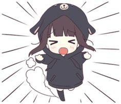 New memes faces girl people ideas Chica Gato Neko Anime, Cute Anime Chibi, Cute Anime Pics, Anime Neko, Kawaii Anime Girl, Anime Art Girl, Manga Girl, Anime Love, Gifs Kawaii