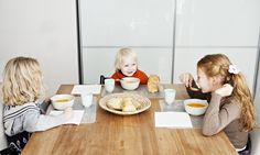 With a little time and effort with your table settings, you can transform your children's relationship with their food