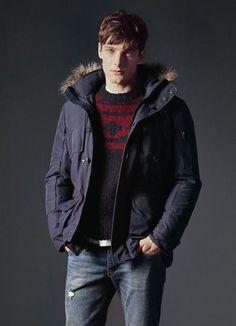 Street style tendance : H.E. Mango Winter 2014 Essentials  fashion4men
