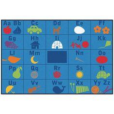 Carpets for Kids Value Plus Alphabet Seating Area Rug Rug Size: Orange Area Rug, Navy Blue Area Rug, Beige Area Rugs, Kids Area Rugs, Carpets For Kids, Carpet Sale, Yellow Rug, Cheap Carpet Runners, Living Room Carpet