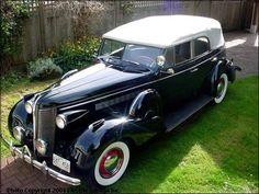 Buick Roadmaster Convertible black w/white top - 1937 - Picture 04J73074311790A