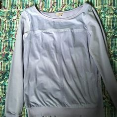 Juicy couture  longsleeve lavender shirt This is like new juicy couture lavender long sleeve shirt. The front is suede and the rest of the shirt is cotton. It's super comfortable and soft. Juicy Couture Tops