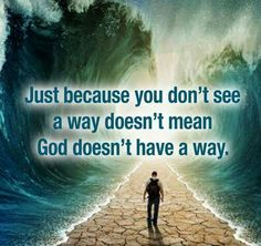 Just watch, expecting to see God's promises and provision every day . . . Every moment! You will be amazed!