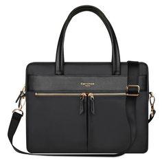 7f464e1ebd3df YiYiNoe Women Laptop Briefcase Bag RFID Blocking Ultrathin Nylon  Business...