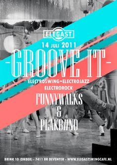 Elegast Groove It Event Flyer #print #design