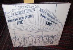 SUNNY DAY REAL ESTATE: LIVE - MUSIC CD, 11 GREAT MUSIC TRACKS, GUC #AlternativeIndie
