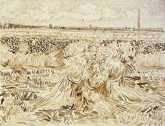 POUL WEBB ART BLOG: Vincent van Gogh drawings - part 5