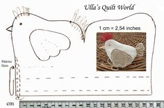This Quilted Easter chicken pouch is very good Easter gift. Inside the Easter chiken is a chocolate egg.   Tämä tilkkutyökanapussi on hyvä ...
