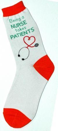 Foot Traffic Being A Nurse Takes Patients Womans Cotton Blend Crew Socks New Nursing Care, Nursing Notes, Nursing Puns, Circadian Rhythm Sleep Disorder, National Nurses Week, Nurse Bag, Rn Nurse, Nursing Accessories, Hello Nurse