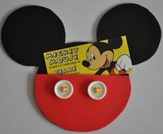 Mundo Tiaré: Invitacion de Cumpleaños Mickey Mouse