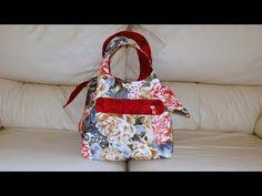 Bolsa/sacola em tecidos Dupla-face - Maria Adna Ateliê - Bolsa/sacola em tecido - Bolsas/Sacolas - YouTube