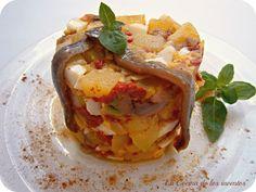 Ensalada de Patatas y Anchoas