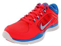 detailed look 29338 2114b Nike Womens Flex Trainer 5 Training Shoe 12 BM US Laser CrimsonPhoto  BluePure Platinum --