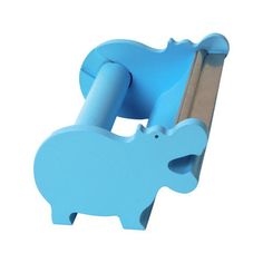Blue Hippo Washi Tape Holder Tape Dispenser Hippo / by pikwahchan