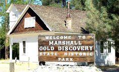 Marshall Park. Marshall Gold Discovery ...