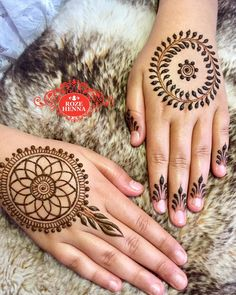 "1,786 Likes, 9 Comments - Rozehenna Henna Supplier (@rozehenna) on Instagram: ""So my eldest asked for two mandalas!! Viney and the dreamcatcher. The viney one can be tricky step…"""