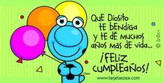 Que DIOS te bendiga y te dé muchos años más de vida… ¡Feliz cumpleaños