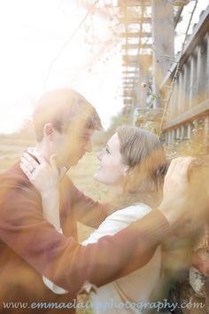 Sweetest couple! Beautiful November engagement session. <3 www.emmaelainephotography.com