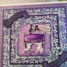 Handmade by Gail Wolfe using stamping Bella stamps