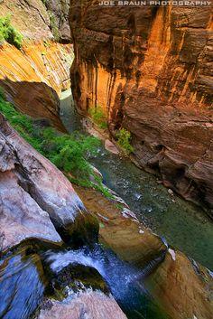 Mystery Canyon, Zion National Park; photo by Joe Braun