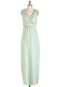 Ready, Set, Vacay Dress. Dont wait another second to slip into this beachy dress by Synergy and point your compass toward paradise! #mint #modcloth