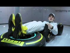 Lying down on the job: Nico Rosberg explains his driving position #F1