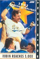 1993 Score #518 Robin Yount HL by Score. $0.39. 1993 Pinnacle/Score trading card in near mint/mint condition, authenticated by Seller