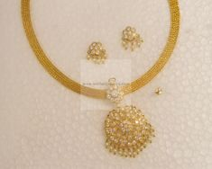 Necklaces / Harams - Gold Jewellery Necklaces / Harams (NK26662666) at USD 1,306.05 And EURO 1,173.20